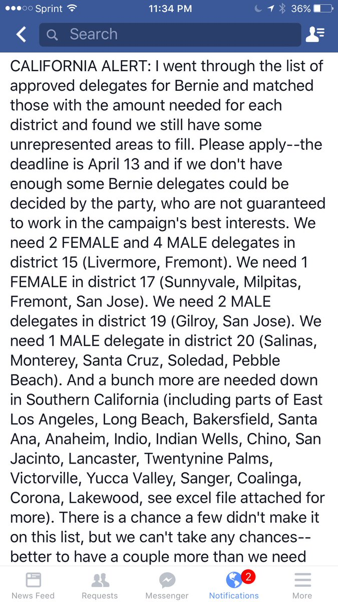 Please tell people about this. Time is running out. #California #FeelTheBern #CA #bernie https://t.co/9ik0cFcjpV