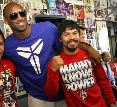 Basketball & boxing won't be the same without these two. #mamba #pacman #legendsneverdie https://t.co/ibMncURqpL