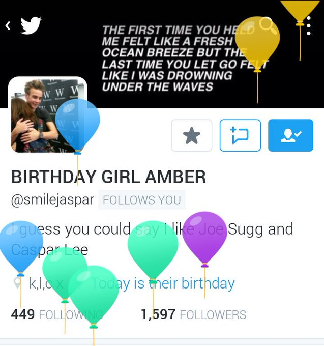 HAPPY BIRTHDAY AMBER!!!!   Have fun!
