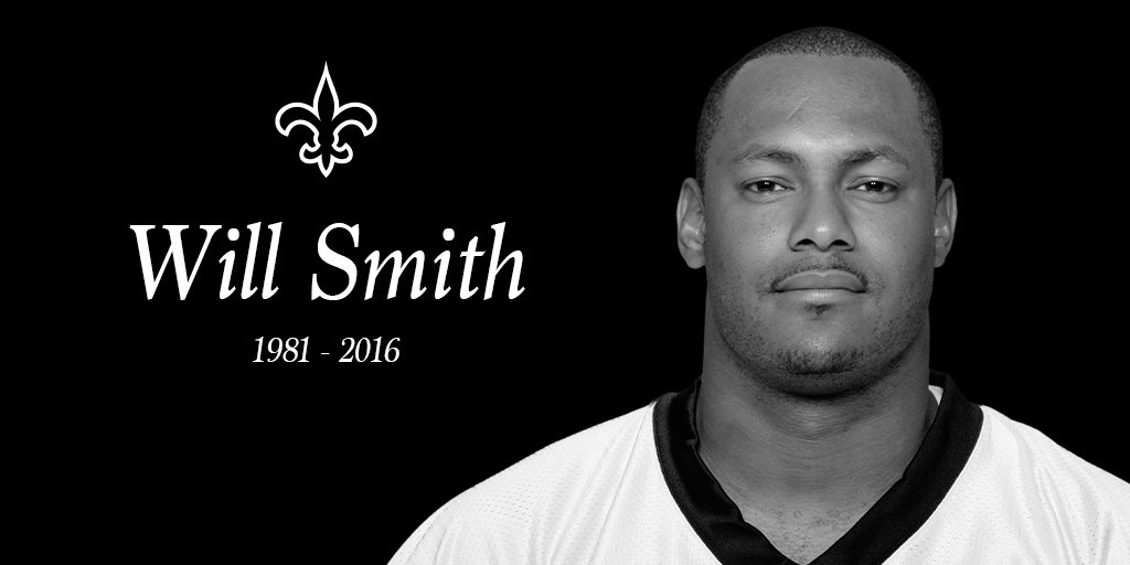 The New Orleans Saints mourn the loss of defensive end Will Smith https://t.co/3YaT8kDJwa https://t.co/byOCxN4fJo