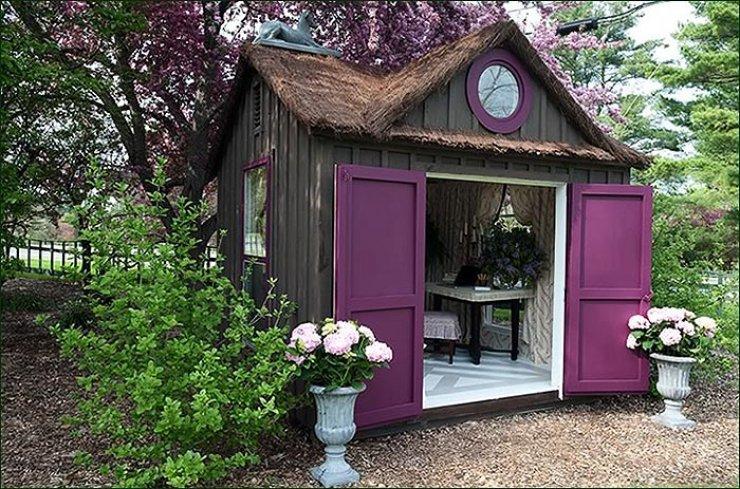 Как покрасить дом на даче своими руками 86