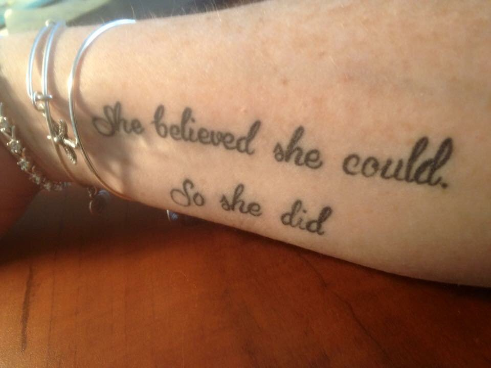 Retweeting a fave quote using #supersoulsunday ... My sister in law even put it on her arm! @CherylStrayed @Oprah https://t.co/5bPSJsVp2q