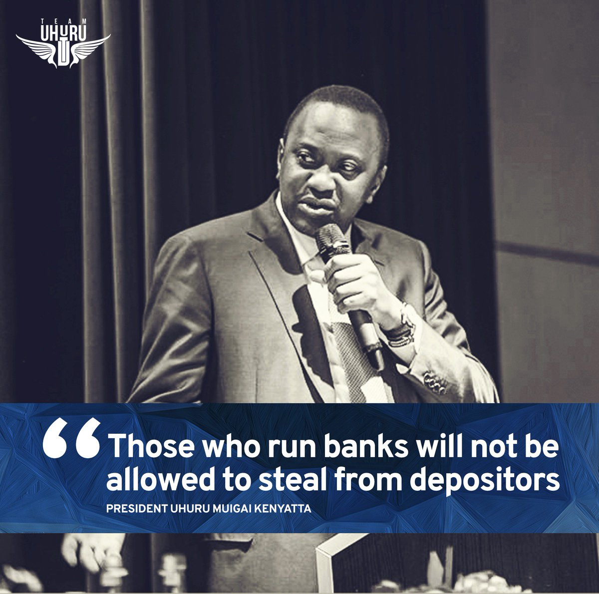 He said mismanagement by unscrupulous individuals in the financial sector will not be allowed to hurt depositors. https://t.co/IIvq3otJHA