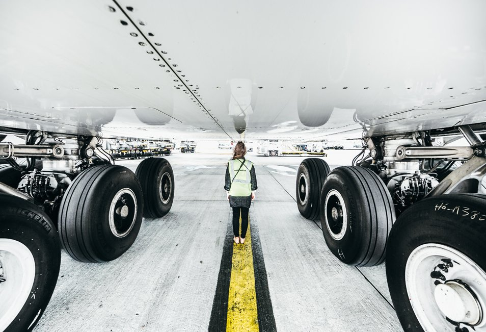 """""""On a marché sous un A380"""" ou les coulisses d'AirFrance à Paris"""