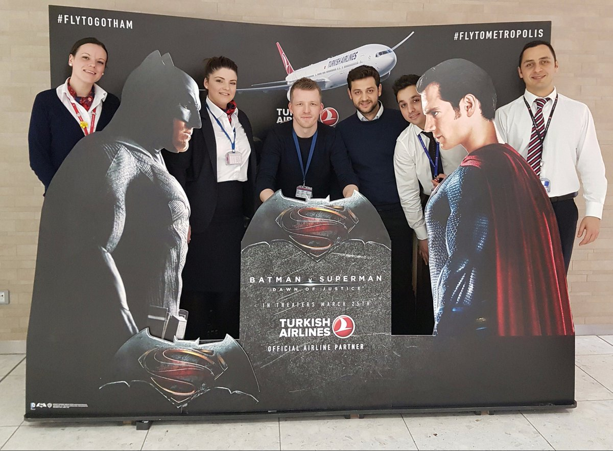 Tweet your BatmanVSuperman pic to @Fly_EDI and win FREE flights to Bangkok full details