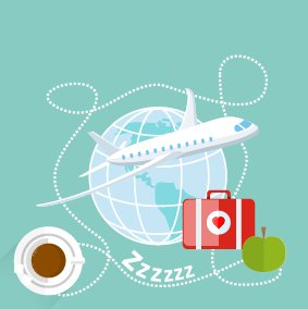 You may not be able to avoid jetlag, but we have a few tips for you on how to minimize it