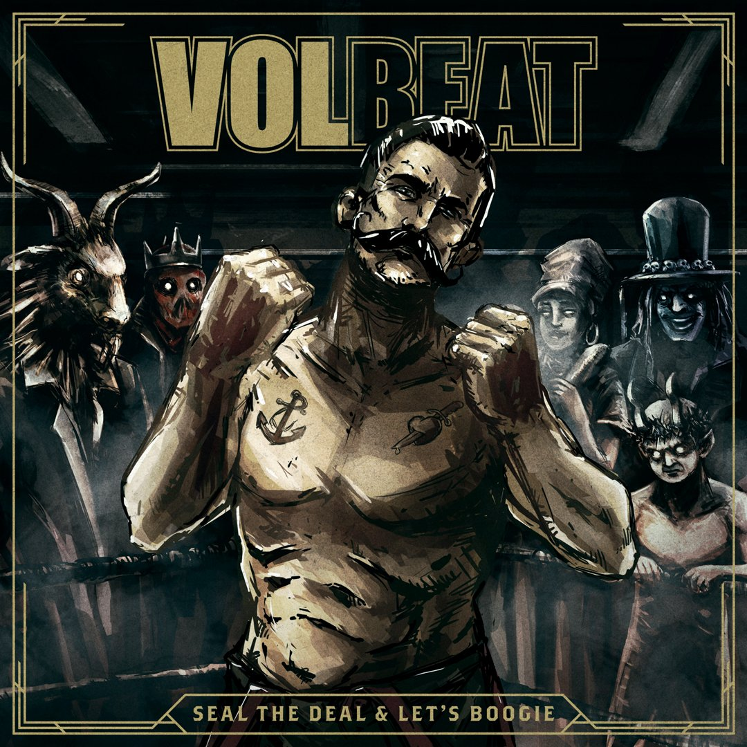 Pre-order the new album SEAL THE DEAL & LET'S BOOGIE now at https://t.co/ftQxC8fcey  In stores 3 June 2016 #VOLBEAT https://t.co/VB9lKqa04i