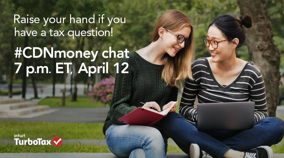 Students, join our #CDNmoney chat tomorrow at 7p.m. ET for tax tips & a chance to win prizes! https://t.co/p19Fnwvz7d