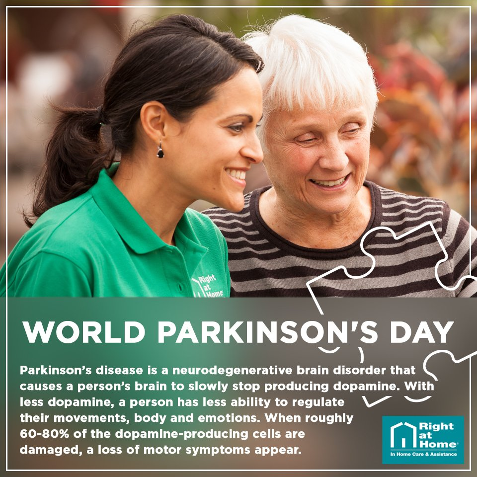 It's World Parkinson's Day. Roughly 60,000 Americans are diagnosed with the disease annually. #Parkinsons https://t.co/IBdoQAkwd3