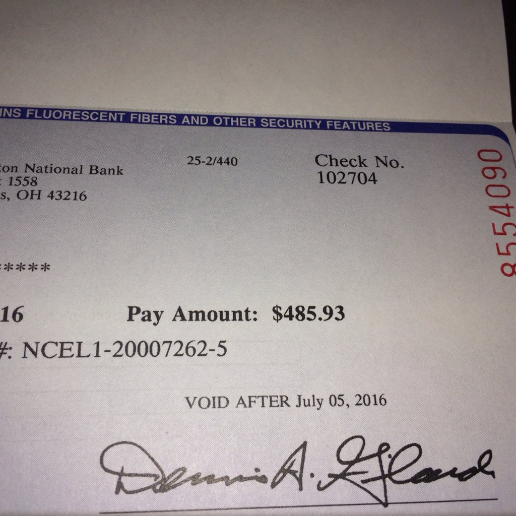 Got my NCAA/EA likeness Settlement payment today. I was only at UF 2 yrs, so that's bout $243/yr. ??? Well... ???? https://t.co/NLG17yiPOe