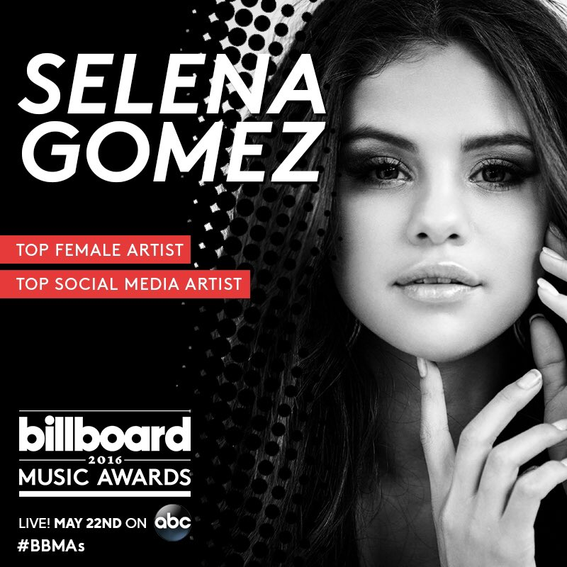 Excited to be a finalist for 2 awards at the @BBMAs ! thank youuuu ���� https://t.co/dZaFoceBYC