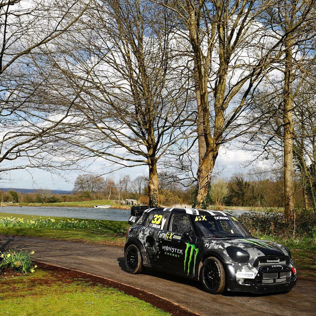 My 2016 JRM Mini RX SuperCar ready for battle in all 12 rounds of the @fiaworldrx this year https://t.co/nWZhSpBf4C