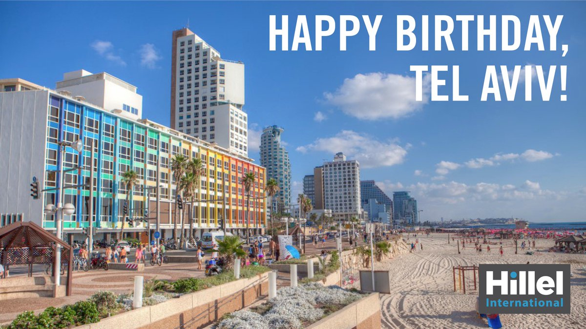 On April 11, 1909, Tel Aviv was officially founded as the first modern Jewish city. Happy birthday, @TelAvivNonstop. https://t.co/hjxu70q0Qh