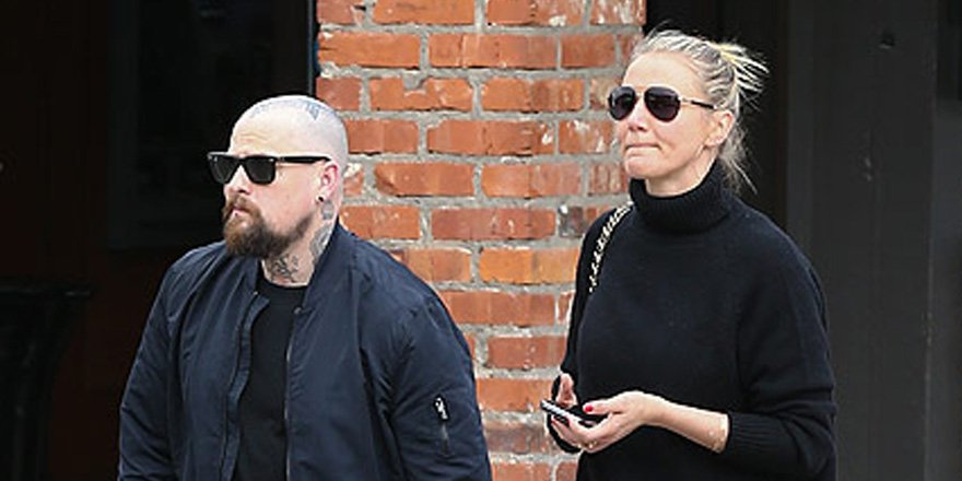 Cameron Diaz & Benji Madden go out for a romantic stroll in Aspen