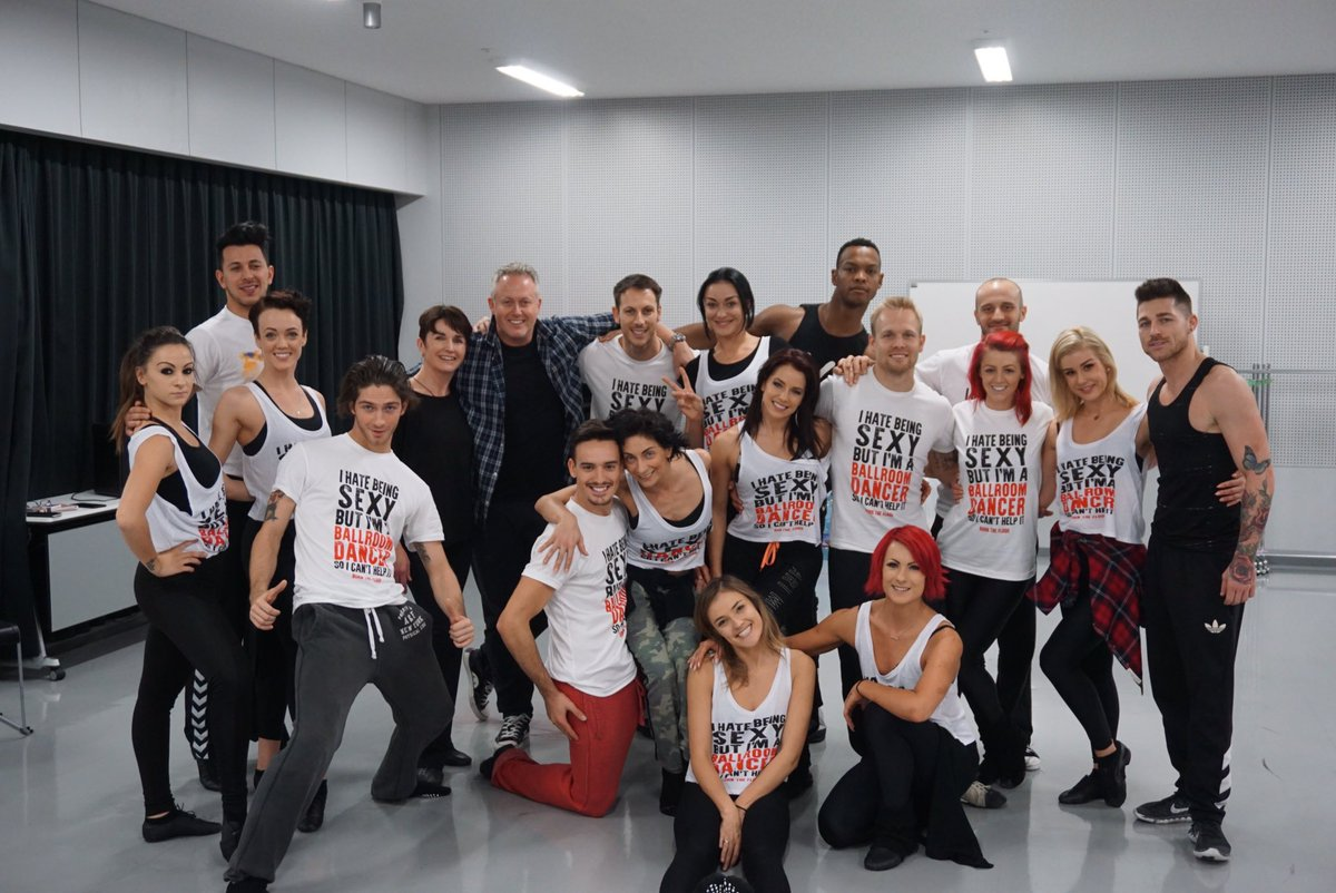 Great master class in Tokyo by @JasonGilkison and Peta Roby with amazing Burn the Floor dancers! https://t.co/VEMNU4tsMZ