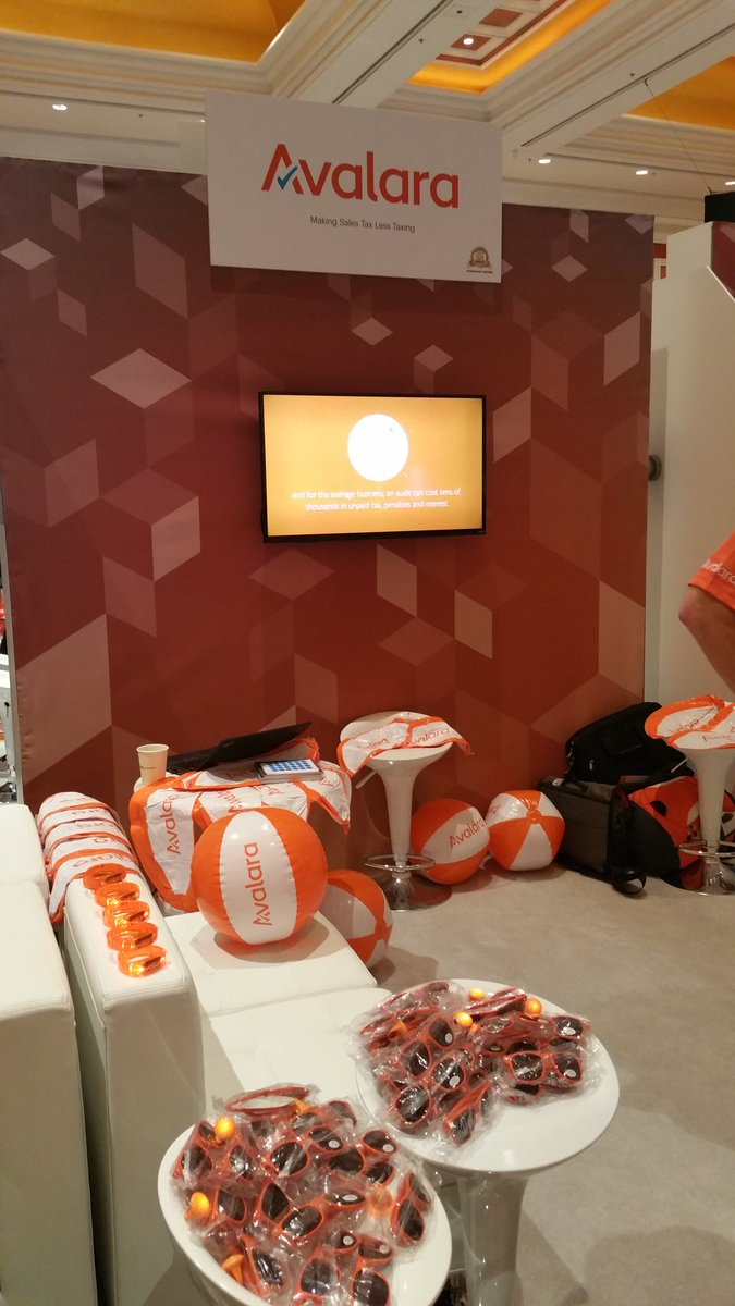 SethRand: Somehow @avalara always has cool #giveaways #MagentoImagine #Imagine2016 @WynnLasVegas #ecommerce #salestax https://t.co/Jt9OwcWSHk