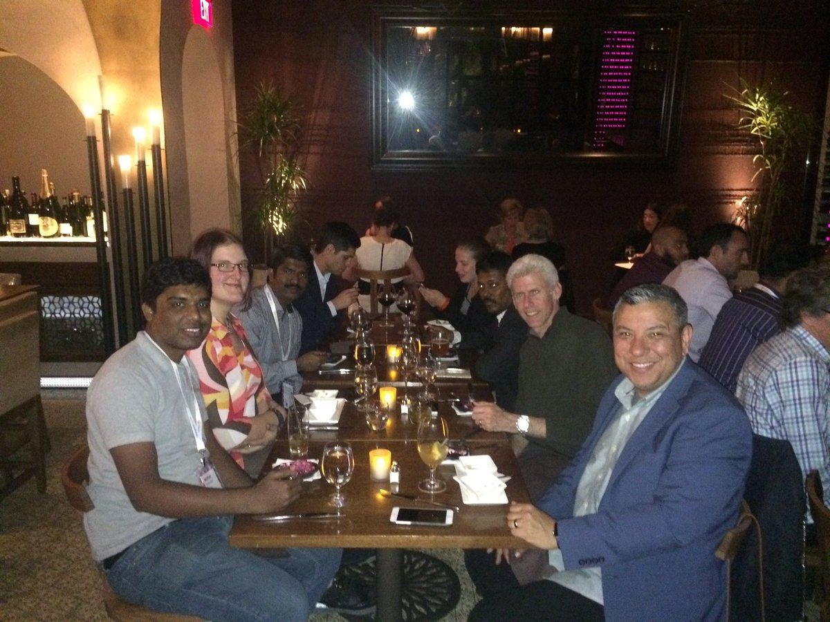DCKAP: @DCKAP team dinner and networking with our clients #MagentoImagine #wynn https://t.co/SSumtZ7xES