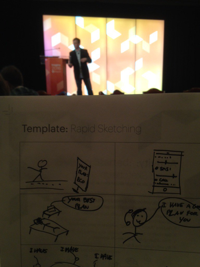 CaluTweets: Design Thinking Workshop with @ericerway #MagentoImagine https://t.co/PDOHEu8qLZ