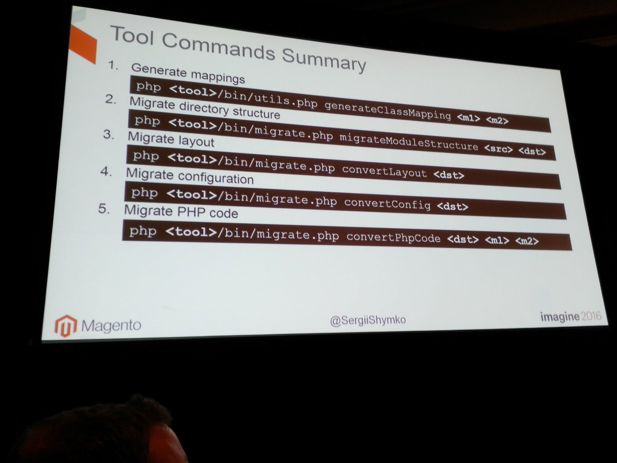 tutnix: Condensed source migration tool information by @SergiiShymko #MagentoImagine https://t.co/iU90xLrmWm