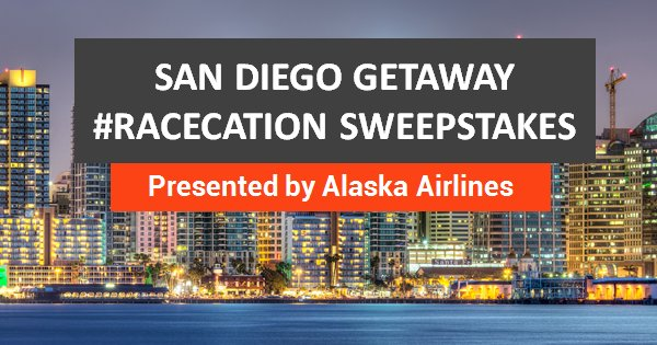 RT @AthleteIQ: Win a racecation on @AlaskaAir! Score a trip for 2 to SanDiego!