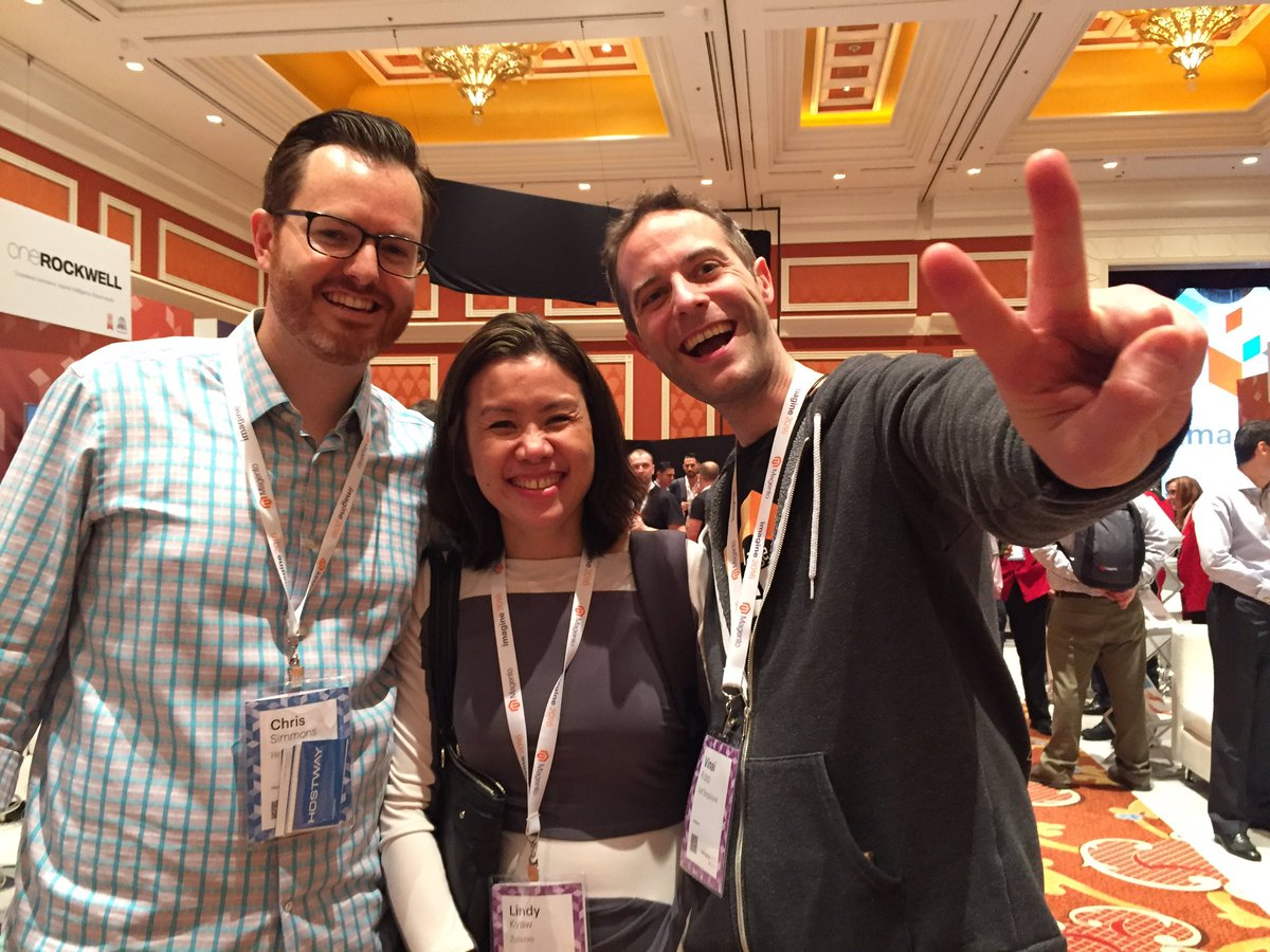 sherrierohde: Hanging out in the marketplace with these cool kids. #MagentoImagine https://t.co/Zo7eqHsIRK