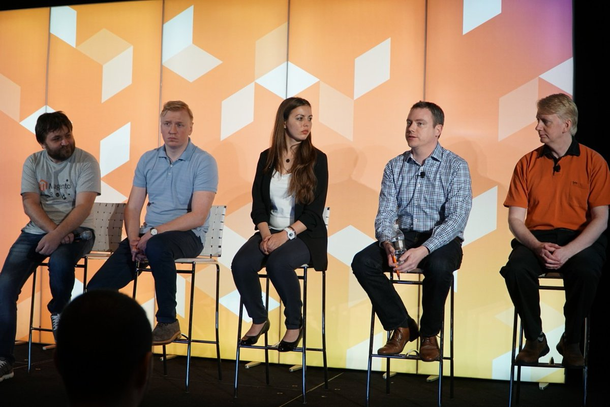 wejobes: The Magento 2 Deep Dive Q/A Panel #MagentoImagine https://t.co/Zo8B6fHLV5