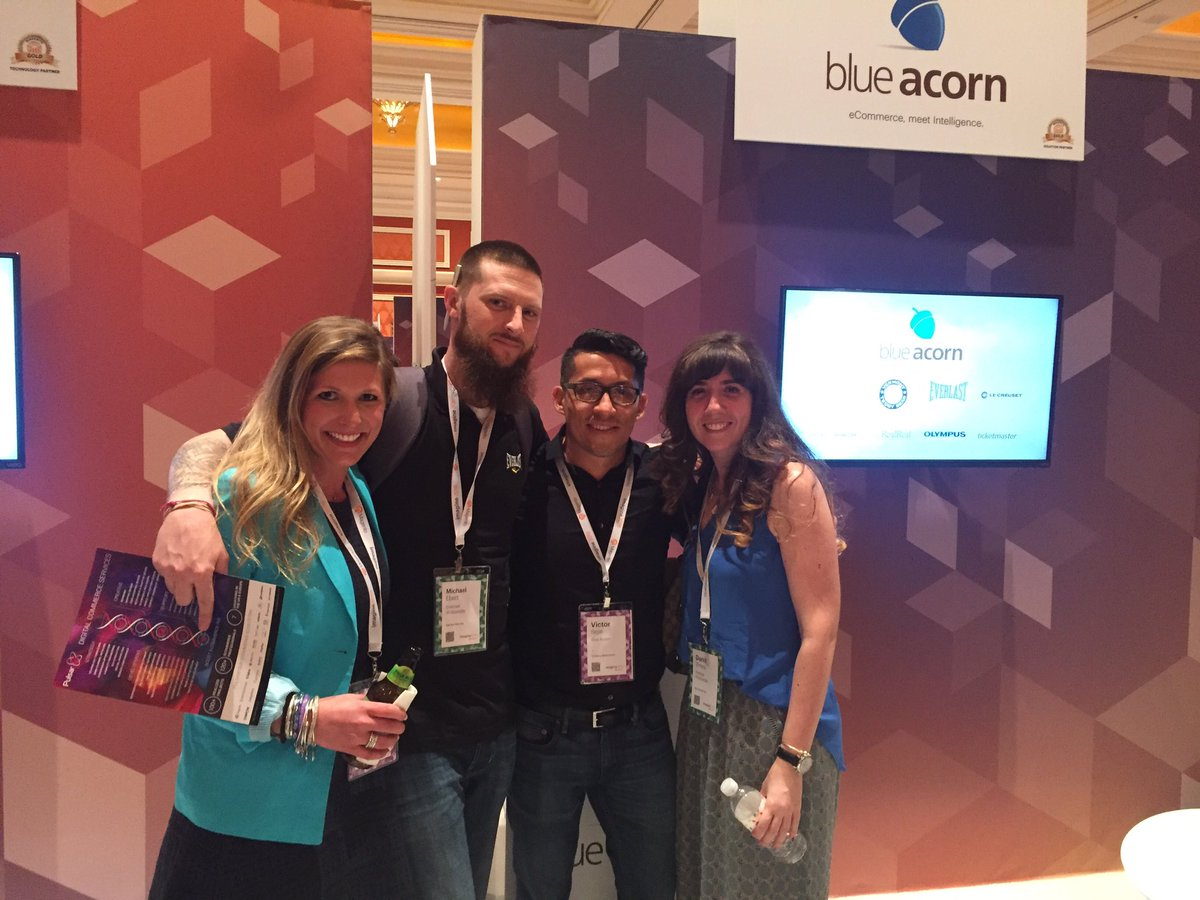 blueacorn: Our client @Everlast_ thinks    #MagentoImagine is a knockout!! Come visit us at booth #411 https://t.co/xzXGiLB2sw