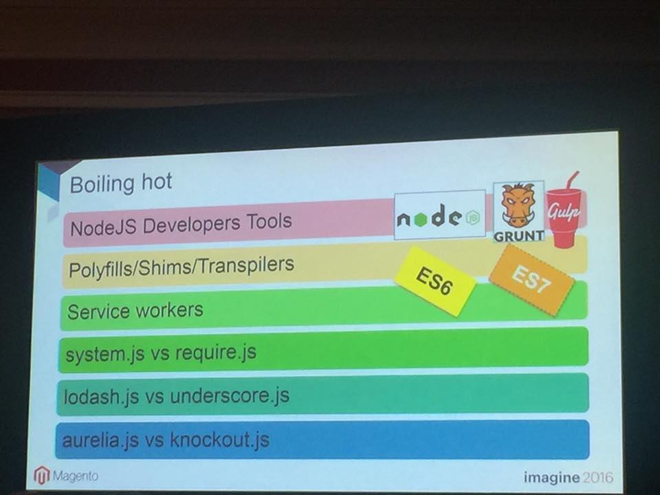 magestore: Boiling hot of Magento 2 Frontend Development Advances...nUpdating...n#Magento #MagentoImagine https://t.co/qjV6NzDrNG