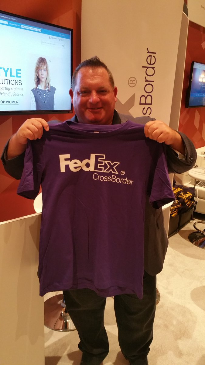 SethRand: Our friends at @BongoUS are now @fedex #crossborder #MagentoImagine #Imagine2016 #ecommerce #shipping https://t.co/C36IQzcd2H