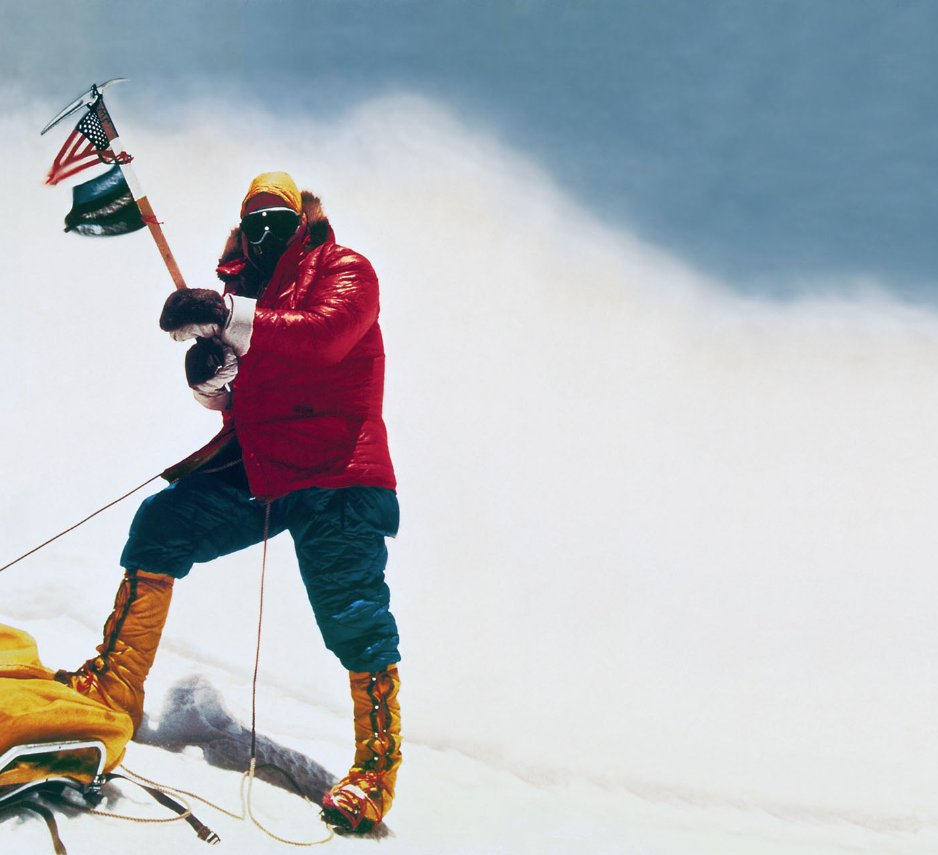 #TenaciousTuesday: Today I'm honoring Jim Whittaker, the first American to reach the summit of Mount Everest. https://t.co/4CKesjvTsu