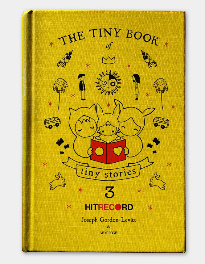 RT @hitRECord: This 'Tiny Book of Tiny Stories' features the work of 82 artists from all over the world: https://t.co/UeI9Aj63w8 https://t.…