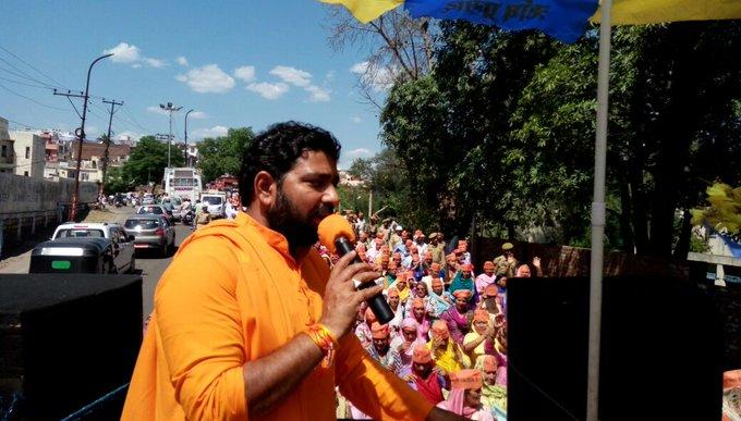 Asaram Bapu Ji\s birthday is no less than a festival . Happy