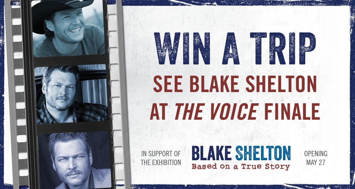 Use #BlakeSheltonExhibitSweepstakes to VOICE your opinion: what are you excited to see in the #BlakeSheltonExhibit? https://t.co/Jzxe5w2owT