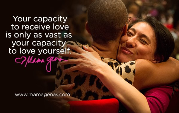Your capacity to receive love is only as vast as your capacity to love yourself #dailyfluff  @http://bit.ly/twtfluff https://t.co/70l9Ajk9nc