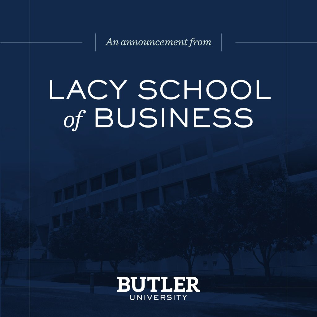BREAKING: Andre & Julia Lacy make a $25M gift to @ButlerU_COB, renaming it the Andre B. Lacy School of Business. https://t.co/upw1aDi4Y6