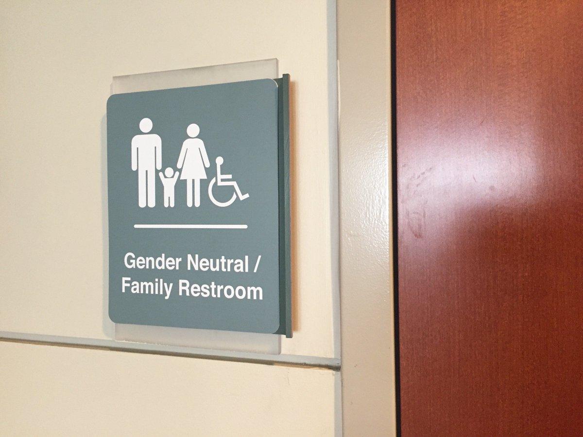 pinterest neutral signs sign gender pin toilet bathroom white genderqueer