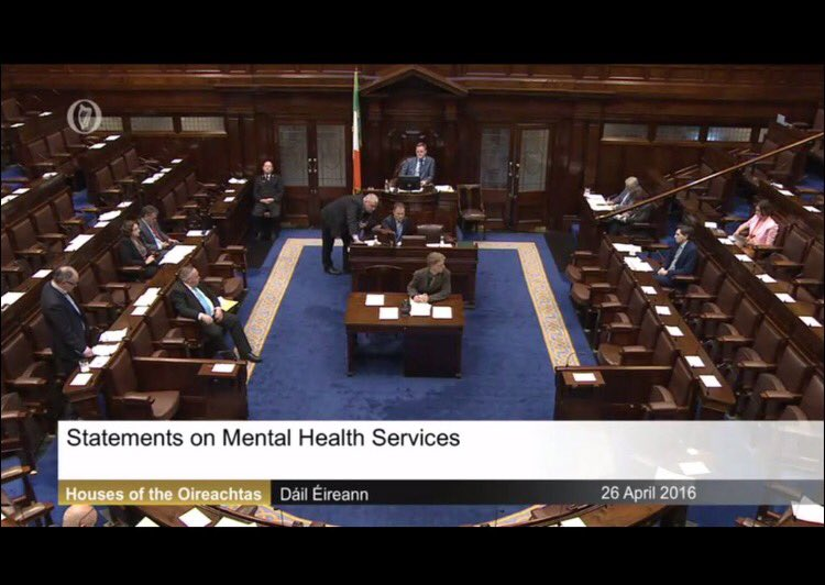 This is the Dail right now for mental Health debate. Remember this view if we have another election #IAmAReason https://t.co/zVNPk9zp7X