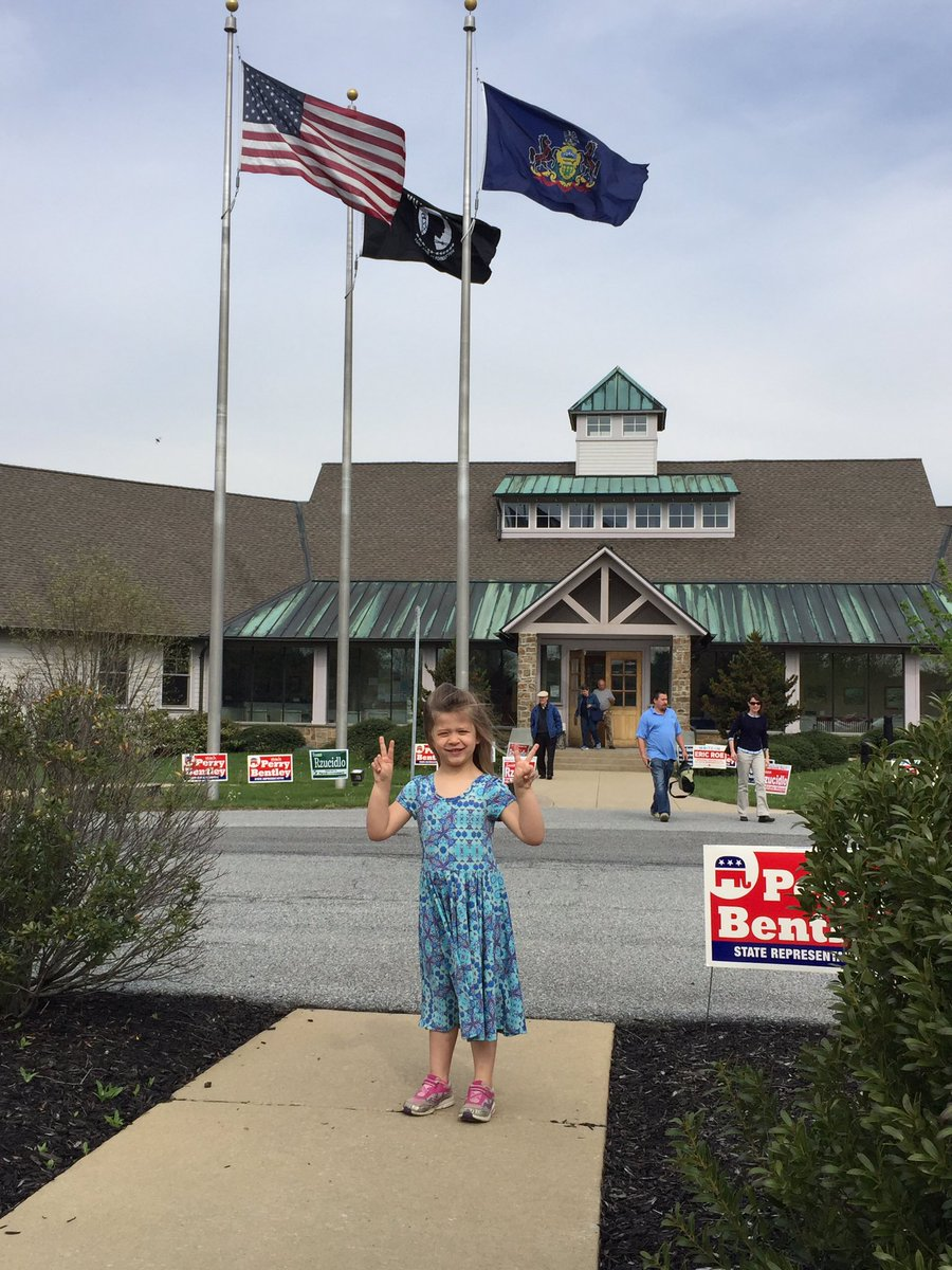 @SenSanders #FeelTheBern My 4 year old niece!  We voted for the children women and everyone! She was thrilled! https://t.co/epJPpQ6zxL