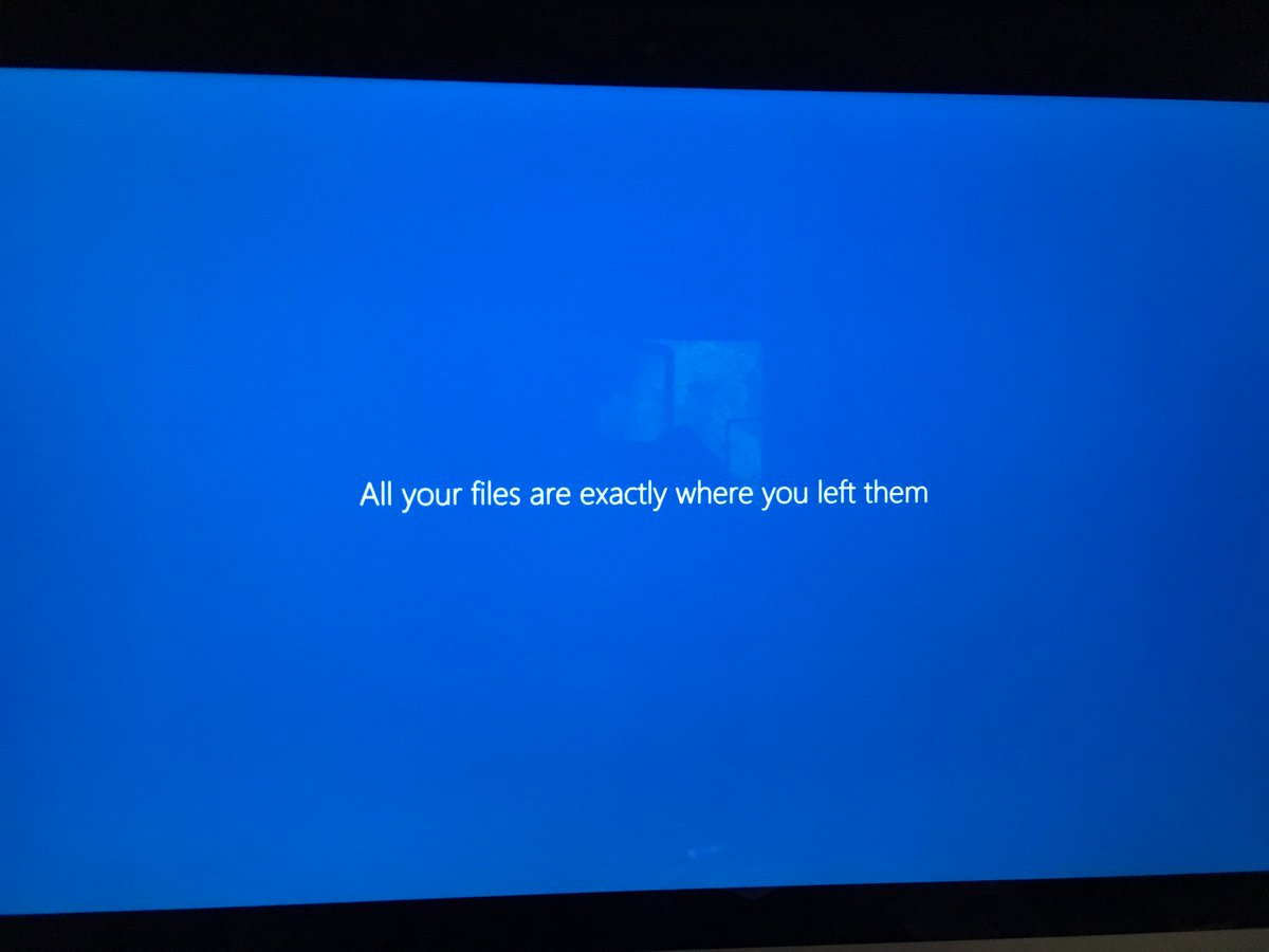 Thanks, Windows. Good of you to reassure me that you aren't failing at one of your most basic jobs. https://t.co/YC5rkNGqnK