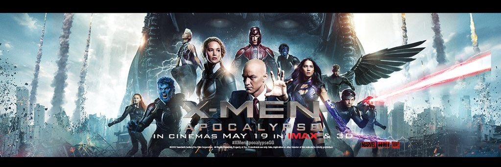 X men apocalypse movie poster