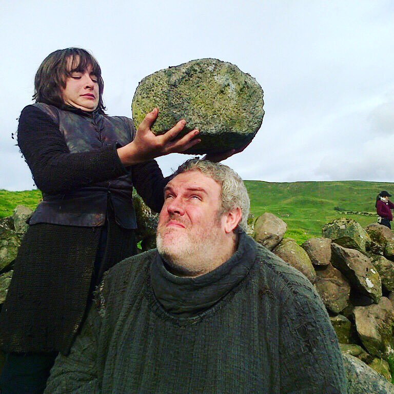 Happy @GameOfThrones day my friends !! See what I have to put up with ? Good times :))) <3333 https://t.co/MA3eZukti3