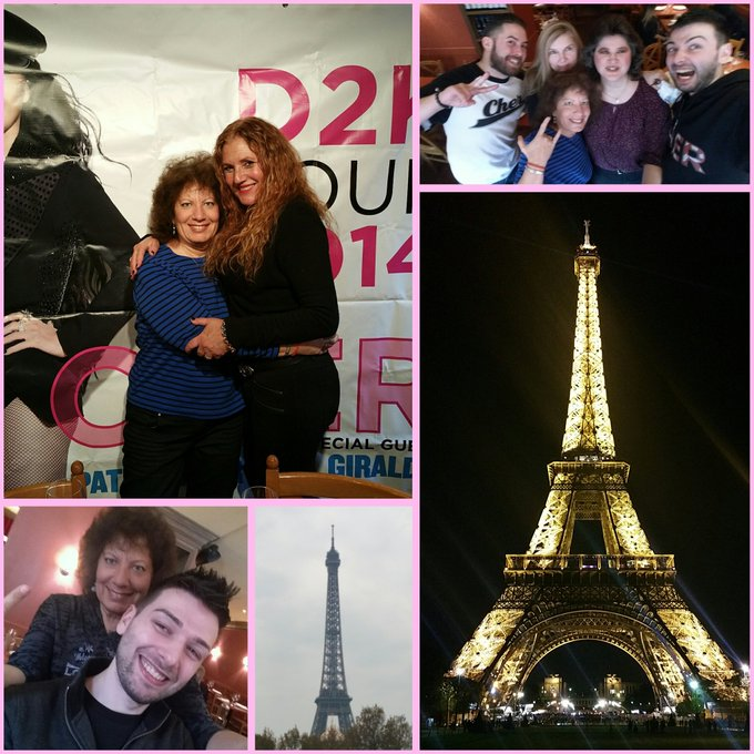 Happy Birthday from Paris & Amsterdam - get well soon luv  please send some luv to her!    xo