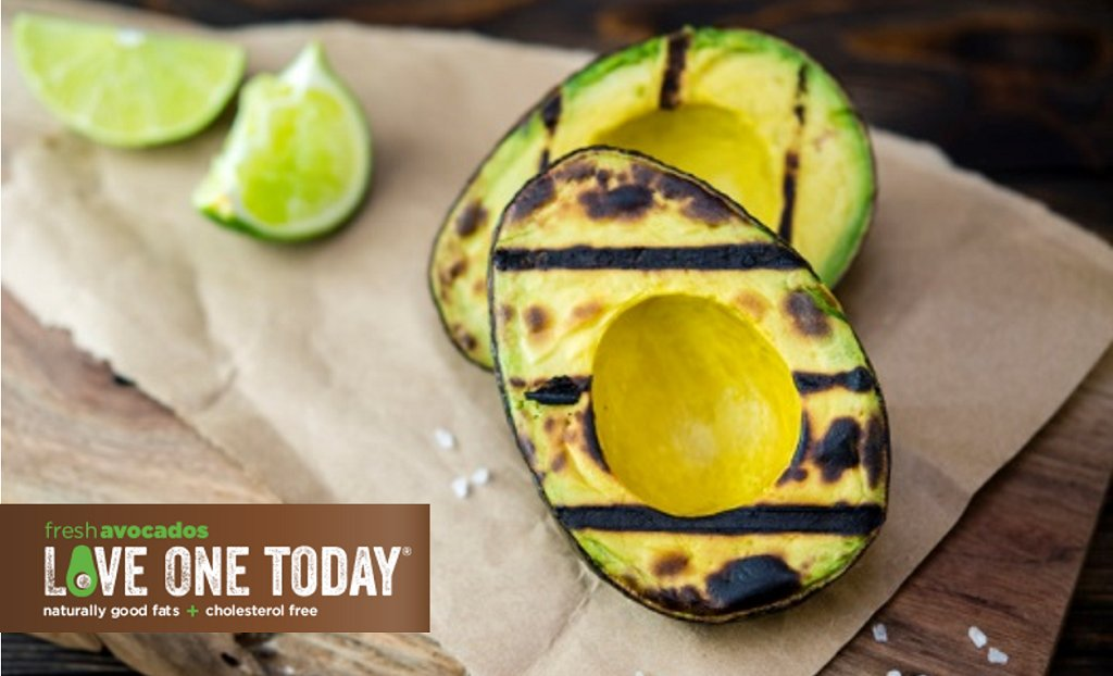 #GrillOneToday: Slice avocados in 1/2.  Sprinkle with lemon juice & place on grill. Grill for 2 mins per side. https://t.co/hs8Dcgeyia