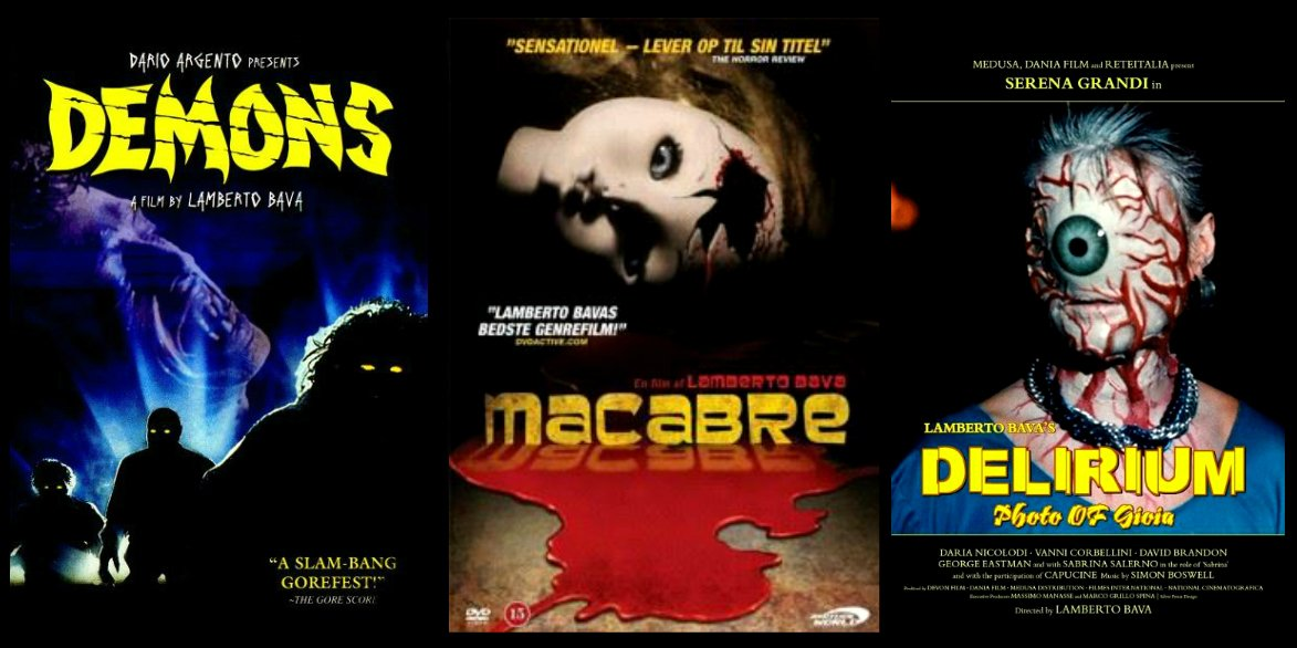 My #podcast - The TRILOGY OF TERROR PODCAST - will launch very soon! First episode looks at 3 films by Lamberto Bava https://t.co/MucuM9gypu