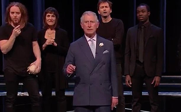 Prince Charles reads Hamlet with Benedict Cumberbatch, Judi Dench and more: