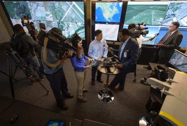 NASA Marks Success for Most Complex Drone Traffic Management Test Yet at FAA Test Sites