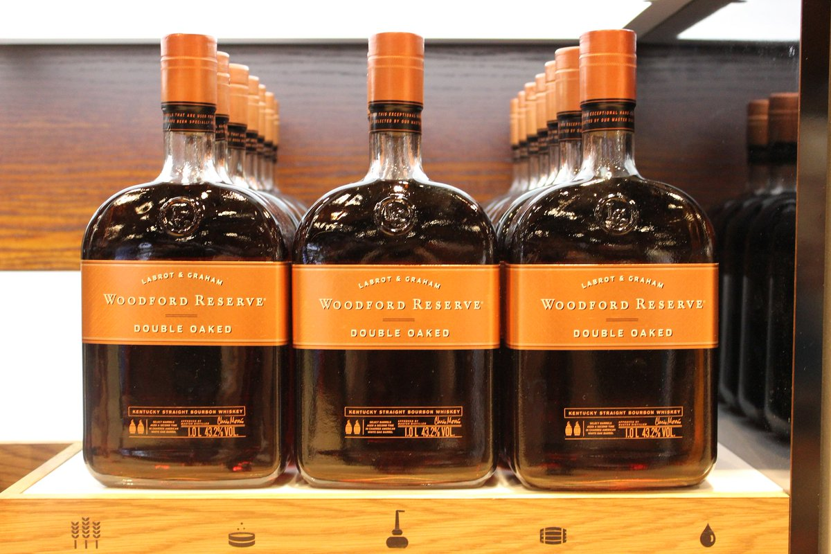 Enjoy notes of dark fruit, caramel, honey & chocolate with @WorldDutyFree @WoodfordReserve