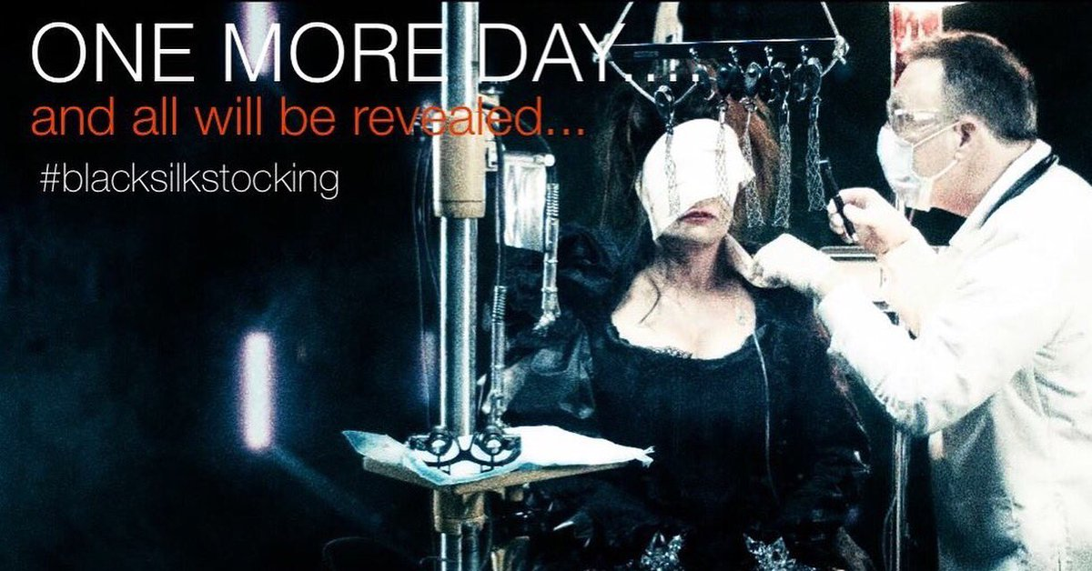 One more day until my #blacksilkstocking #dance #video is revealed x #drag #art #jesseydavey #premiere #retweet https://t.co/JeM2wi2GgG