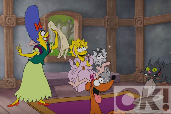 The Simpsons get Disneyfied, watch: