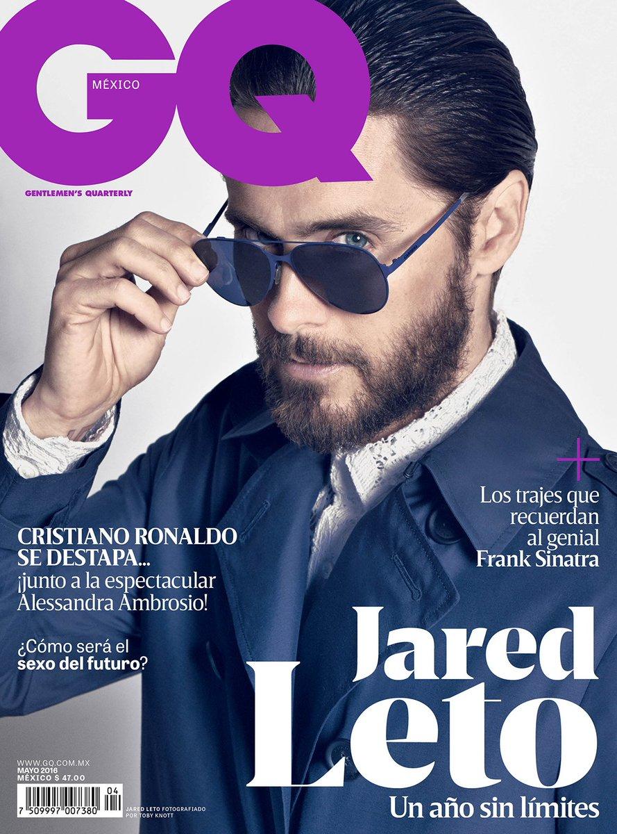 RT @GQMexico: No te puedes perder al actor, productor, polifacético, #JaredLeto. Es nuestra portada de mayo. Espérala pronto https://t.co/E…
